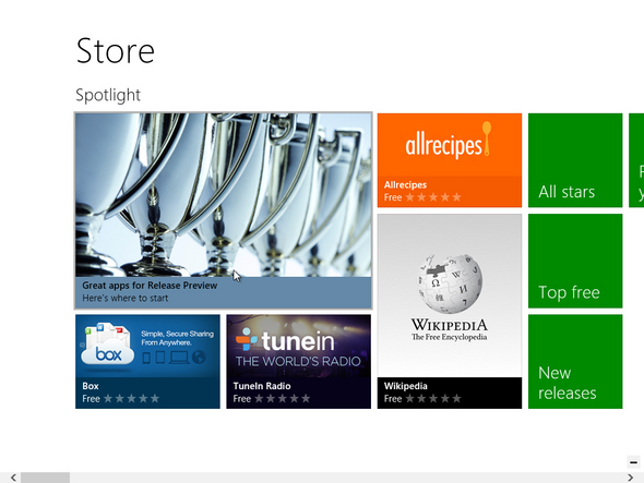 Windows Store in Windows 8