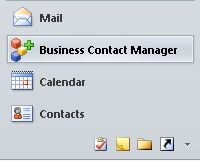 Business Contact Manager or Solutions