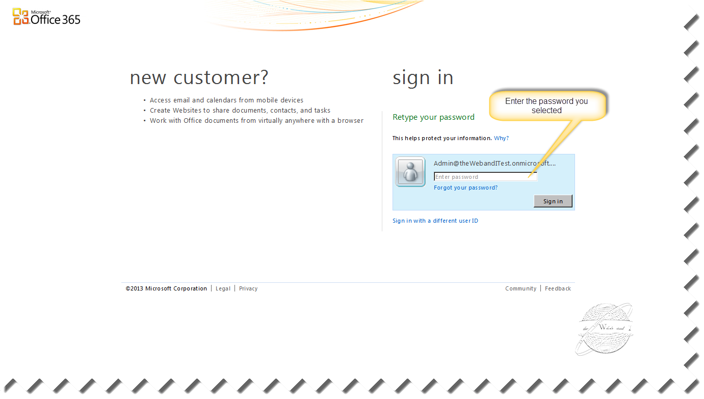 Microsoft single sign on service download markmetr - Micrsoft office 365 login ...